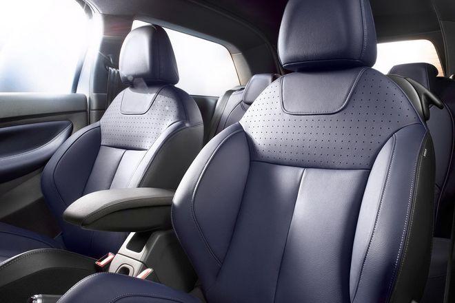 Citroen DS3 Cabrio — интерьер